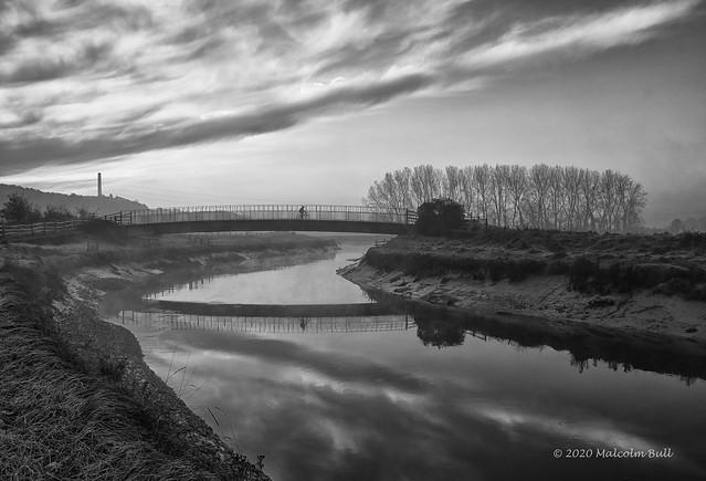 Misty Morning - River Adur