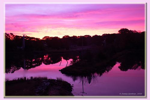 northkingstown rhodeisland usa sunrise wickfordri wickfordcove