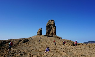 Roque Nublo Canary Islands | by leftbanked