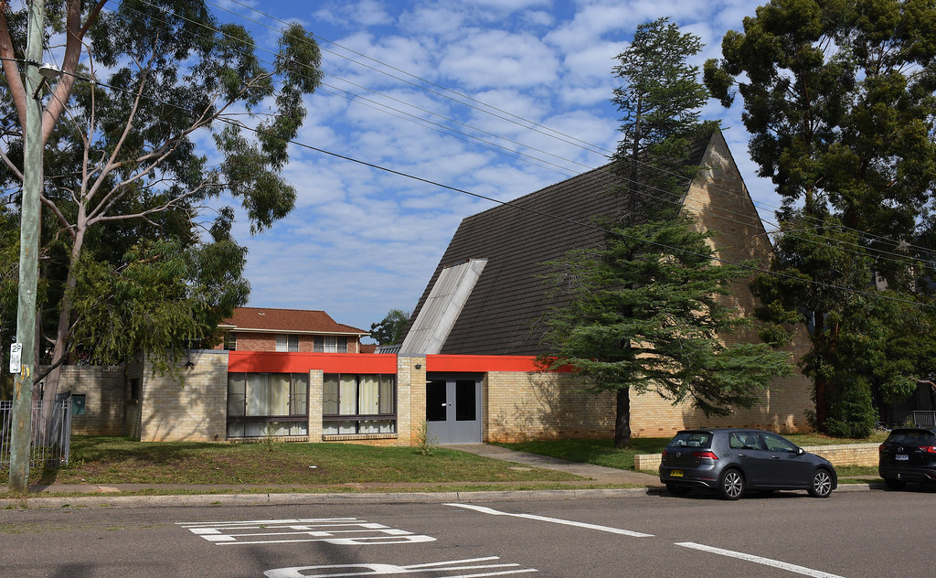 St Pauls Anglican Church, Wentworthville, Sydney, NSW.