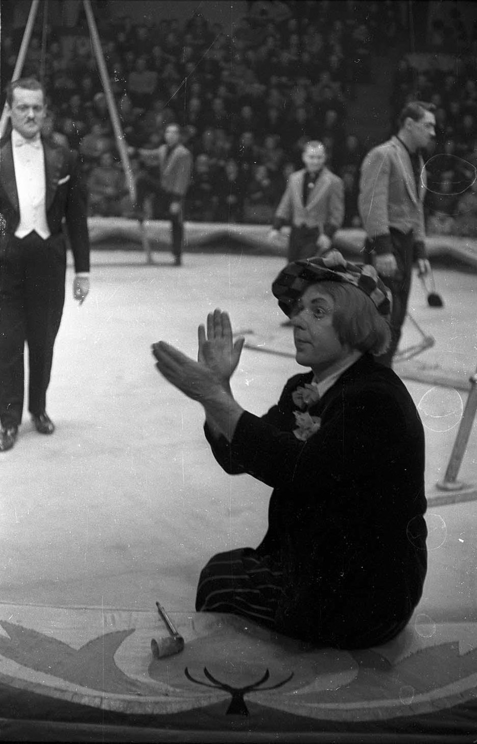 1970-е. Цирк на Цветном бульваре. Олег Попов