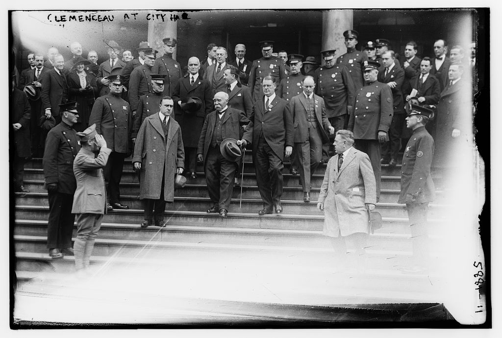 Clemenceau at City Hall (LOC)