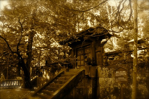Gate of the Tomb of Shogun Ieyasu | by walking.biking.japan