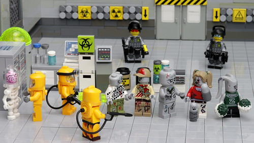 CDC studies a zombie family unit | by Brick Police