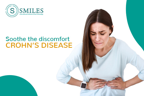 Soothe the discomfort during crohns diseases