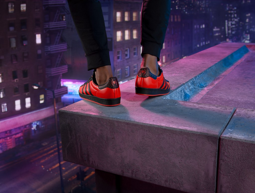 Marvel's Spider-Man Miles Morales - Adidas Superstar