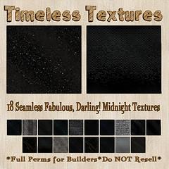 TT 18 Seamless Fabulous, Darling! Midnight Timeless Textures