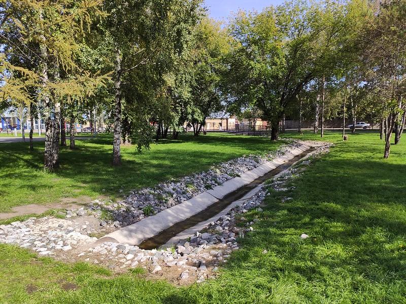 Белово - Канал в городском парке