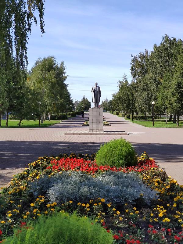 Белово - Памятник Ленину