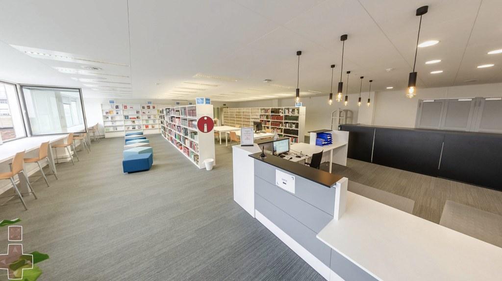 Biblioteca USLB: 4ª planta