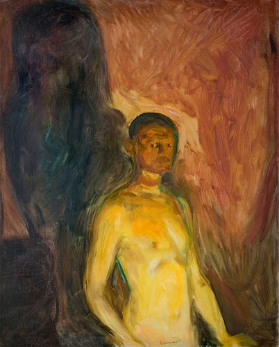 Munch in hell painting