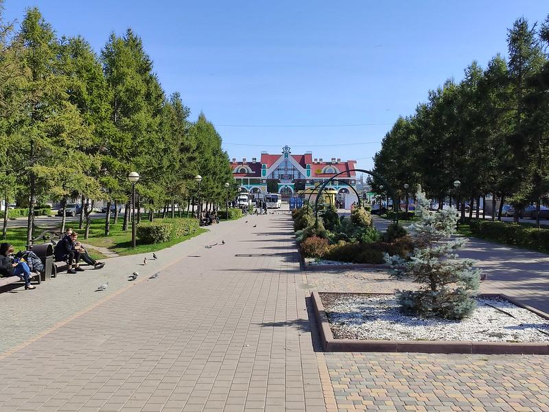 Белово - По дороге к вокзалу