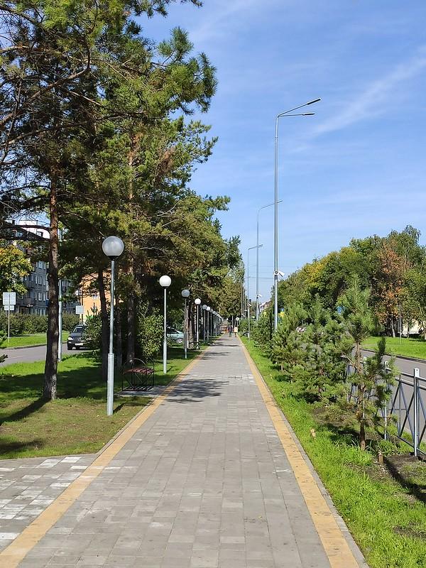 Белово - Узкая пешеходная дорожка