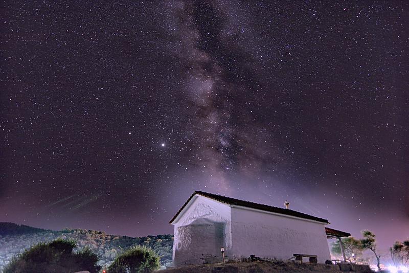 Αστροφωτογραφία γαλαξία_landscape