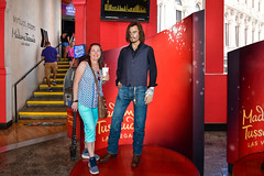 Las Vegas NV, USA 09-30-18 Johnny Depp, American Actor at Madame Tussauds Wax Museum at the Venetian Las Vegas