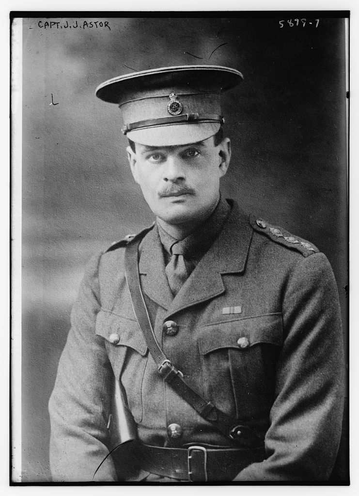 Capt. J.J. Astor (LOC)