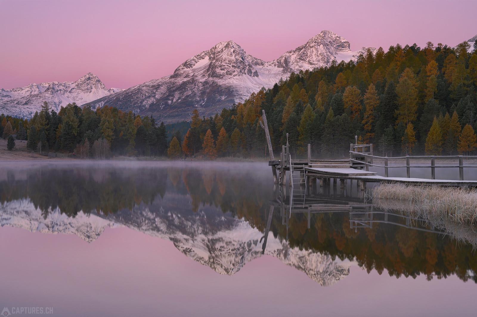 Dawn at the lake - Stazersee