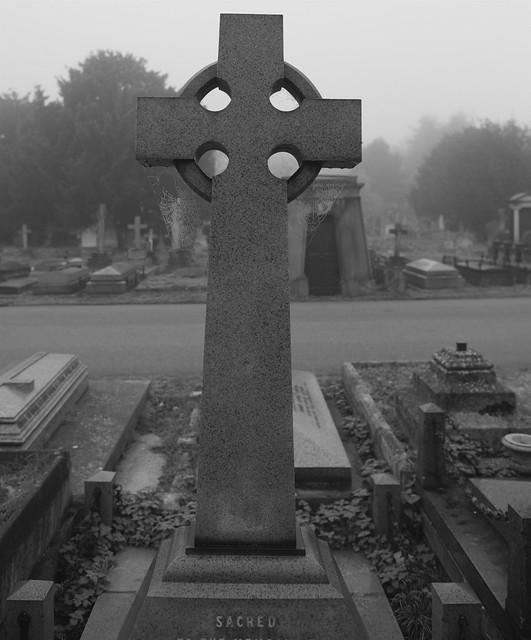 Cobwebs and sacred cross