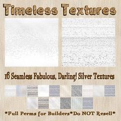 TT 16 Seamless Fabulous, Darling! Silver Timeless Textures