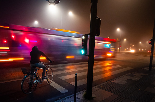 Yet another foggy night... (1)