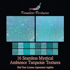 TT 16 Seamless Mystical Ambience Turquoise Timeless Textures