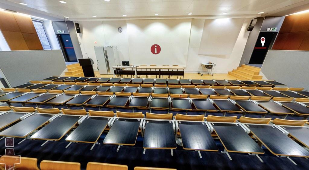 Facultad Marie Haps USLB: Auditorio 14.0.01
