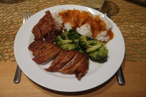 Ped Rad Nam Prik Tua (mein erster Teller)