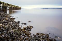 Pier, River Clyde, Port Glasgow,Renfrewshire, Scotland, UK