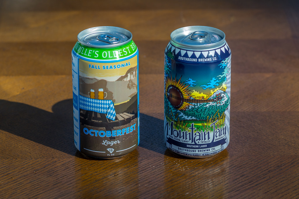 Thompson Creek's Octoberfest Lager and Southbound's Mountain Jam Southern Lager
