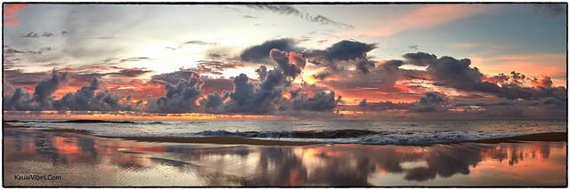 Kealia Beach, Kauai, Sunrise, 11/05/2020.