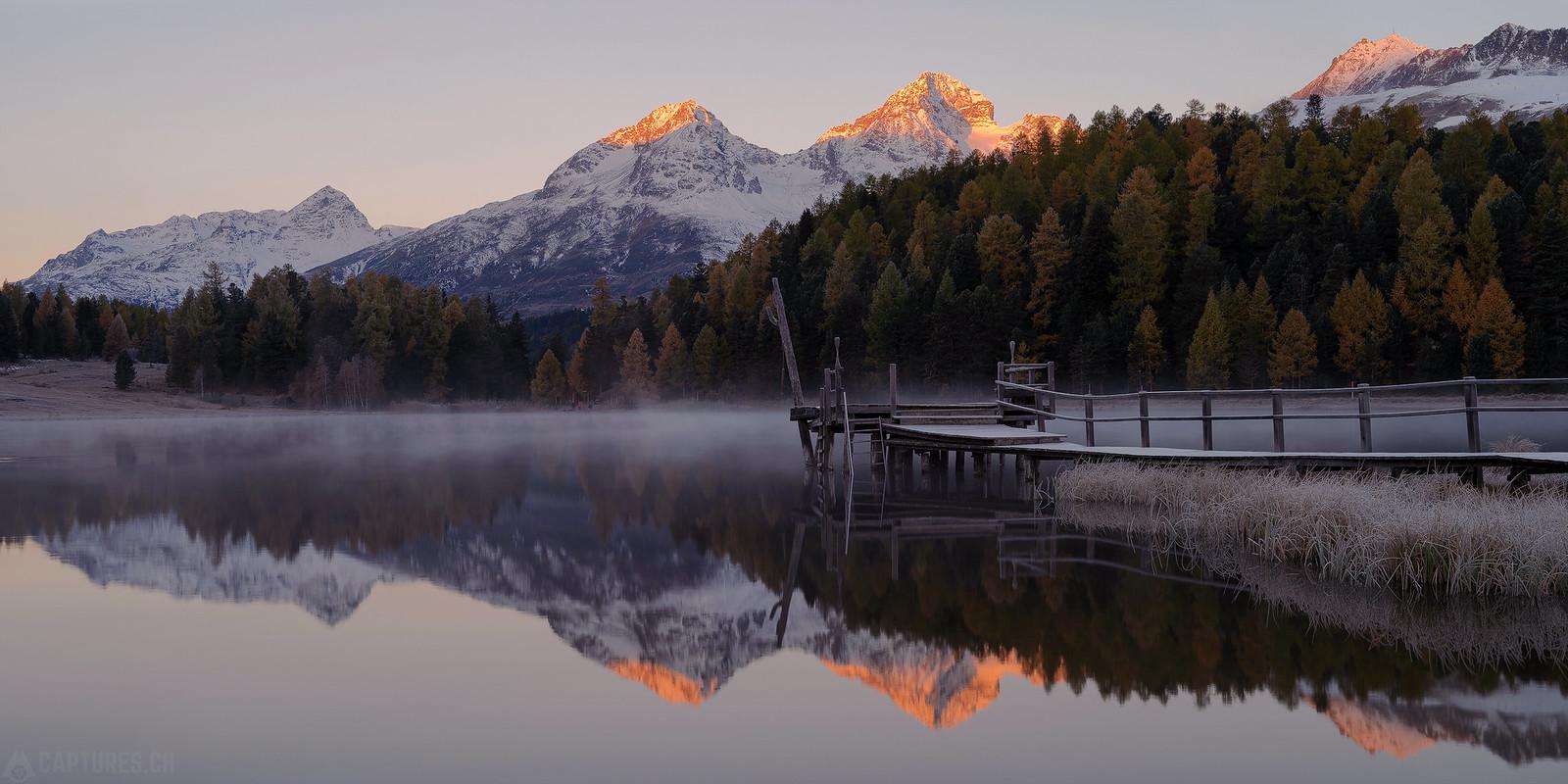 Morning panorama - Stazersee