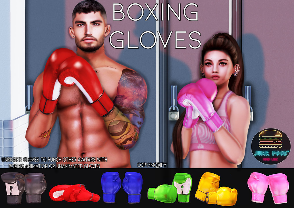 Junk Food – Boxing Gloves Ad