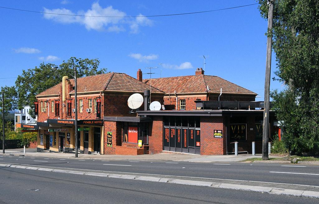 Pymble Hotel, Pymble, Sydney, NSW.
