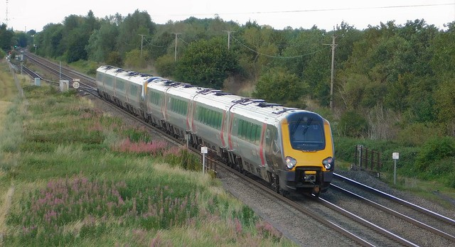 220024 + 220014 - Barton South Junction, Staffordshire
