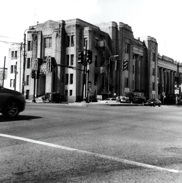 Tulane and Broad, The Courthouse