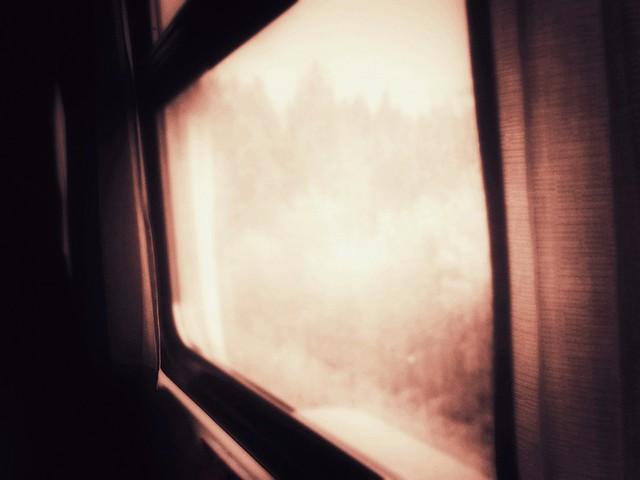 « L'hiver, nous irons dans un petit wagon rose avec des coussins bleus. » Arthur Rimbaud - Rêvé pour l'hiver