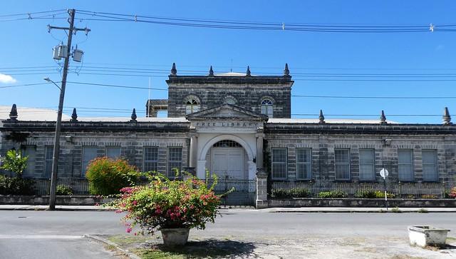 Bridgetown, Barbados - Carnegie Building
