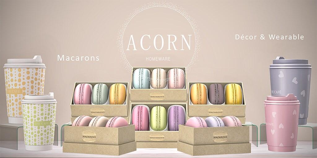 ACORN Macaron Set