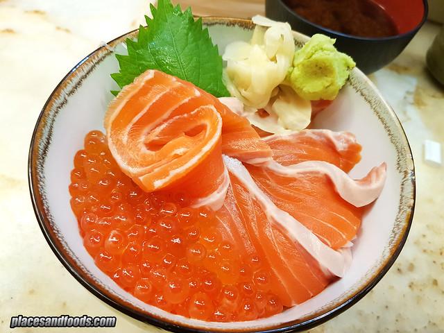 ichiro sushi bar salmon don