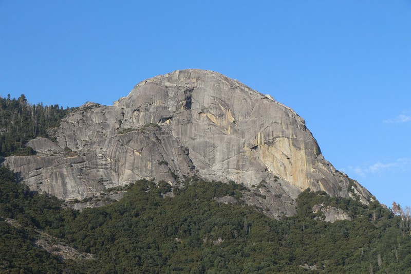 Moro Rock from Hwy 198 in Sequoia National Park