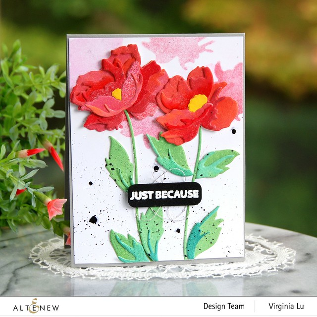 Altenew-CAF Poppy-Featured Sentiment Die Set-001