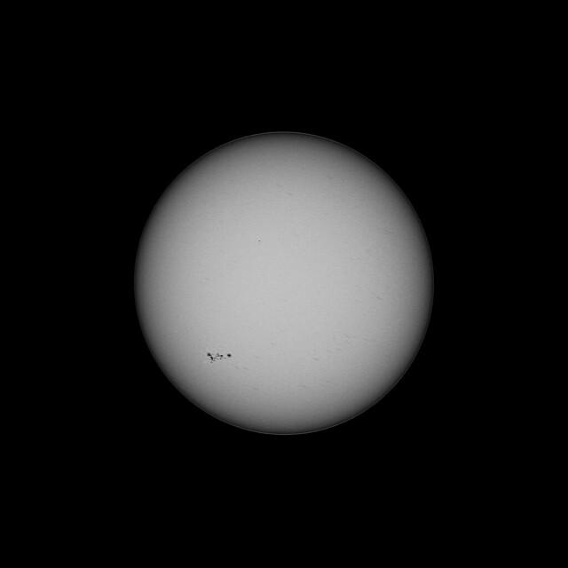 AR2781 Sunspots