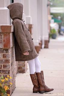School Days Jacket in Wool