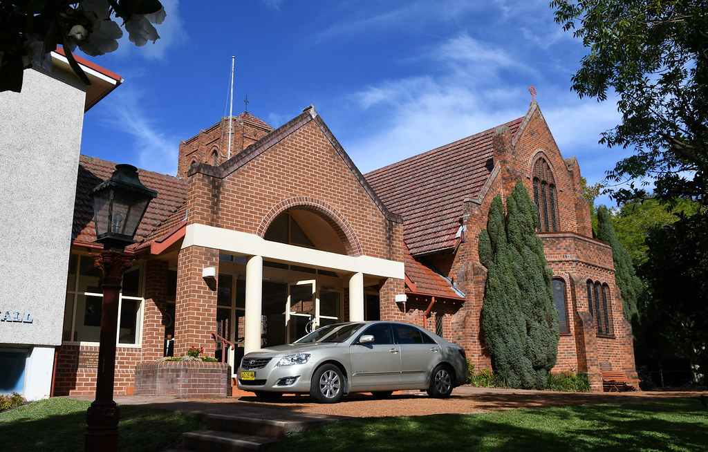 St Andrew's Anglican Church, Wahroonga, Sydney, NSW.