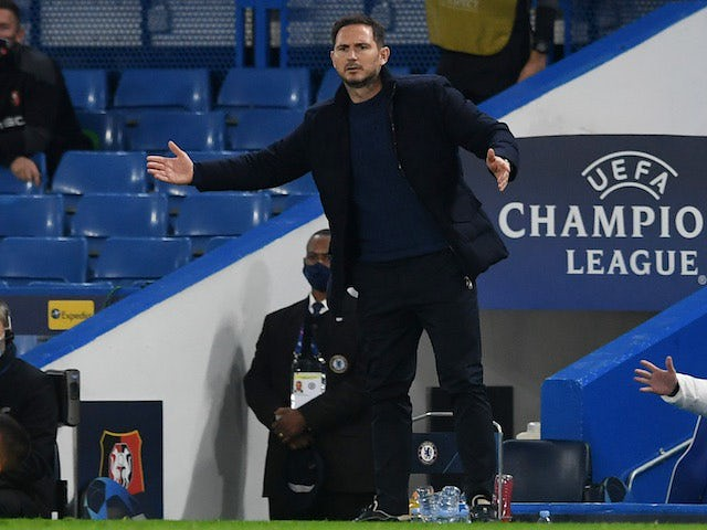 Frank Lampard before Match of the Day 7/11/20