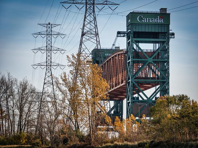 The lift bridge
