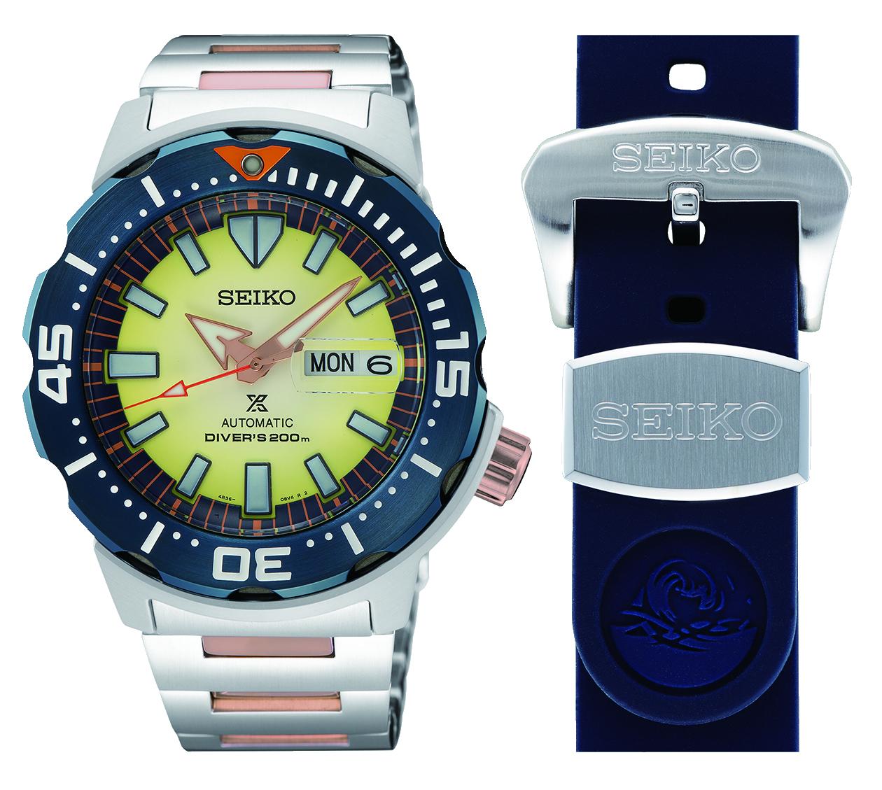 Seiko Unveils Limited Philippine - Edition Seiko Diver's Watch
