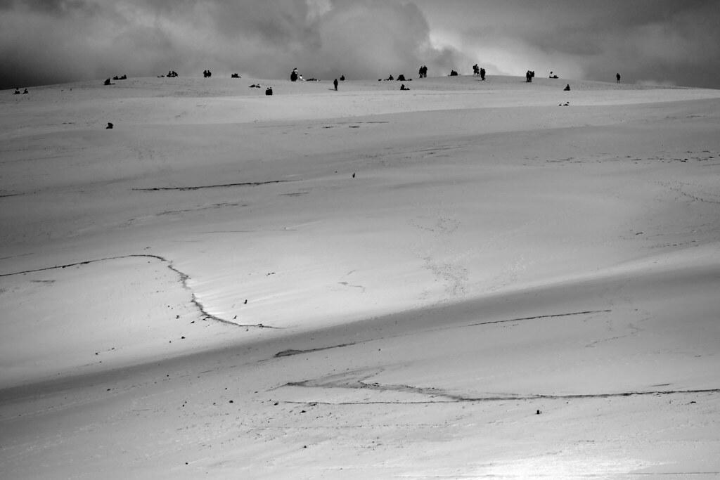 Foule sur la dune