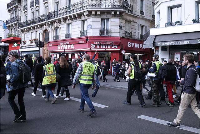 Acte 48 des Gilets jaunes ✔ Paris le 12 octobre 2019 IMG191012_108_©2019 | Fichier Flickr 1000x667Px Fichier d'impression 5610x3740Px-300dpi