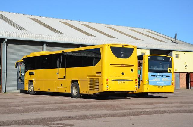 Monmouthshire YX19 MOF & SN06 JVY, Bulwark